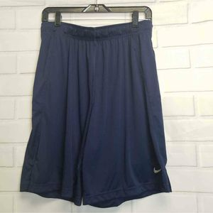 NWOT Nike Dri Fit Mens Active Blue Shorts L